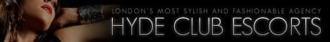 Hyde Clube Escorts banner